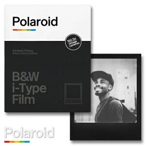 Polaroid B&W i-Type Film Black Frame Edition ポラロイド フィルム モノクロフィルム i-typeカメラ用
