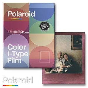 Polaroid Color i-Type Film 2PACK Metallic Nights Edition ポラロイドフィルム カラーフィルム i-type / 600カメラ用