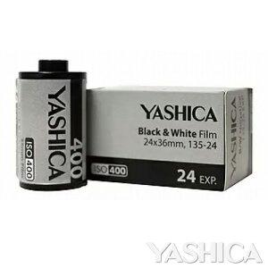 YASHICA Black & White 35mm モノクロネガフィルム ISO400 24枚撮り