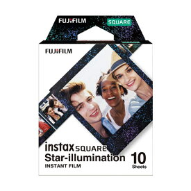FUJIFILM instax SQUARE スターイルミネーション チェキ スクエア用フィルム