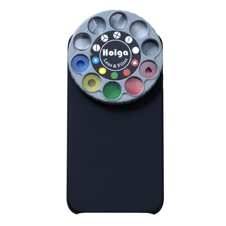 ホルガ/HOLGAiPhone 4S / 4用アート・エフェクター HOLGA SLFT-IP4 ブラック【SLFTIP4BK】4560255478314