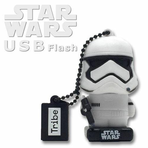 スターウォーズ USB ストームトルーパーTribe STAR WARS USB FLASH 16GBSTOTMTROOPER TLJ版