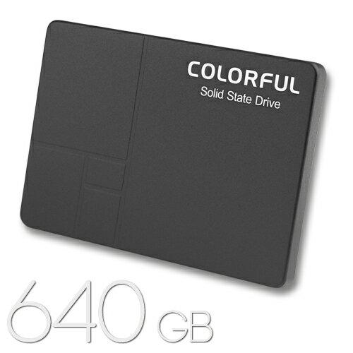 COLORFUL SSD 640GBSATA 3.0対応 2.5インチ 内蔵SSDSL500 640G