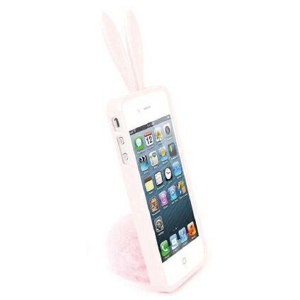 【正規品】Rabito/ラビット うさぎ ケースRabito for iPhone 5 Baby Pinkラビット ラバーケース(ベイビーピンク) アイフォン ファイブ 人気ケース スタンド シッポ プレゼント 女性 レディ バニー カバー【RBMK/IP5-BP】4560194548796