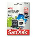 マイクロSDカード 128GB SanDiskmicroSDXC クラス10 UHS-1 サンディスクSDSQUNC-128G-GN6MA( SDSDQUAN-...