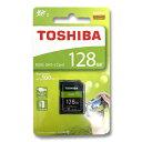 東芝 SDカード 128GB SDXC クラス10 UHS-I THN-N203R1280A4 100MB/s