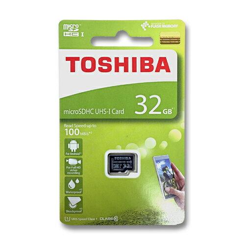 東芝 マイクロSDカード 32GBmicroSDHC クラス10 UHS-ITHN-M203K0320A4 100MB/s
