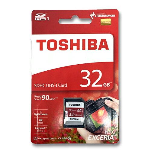 東芝 SDカード 32GBSDHC クラス10 UHS-ITHN-N302R0320E4 90MB/s
