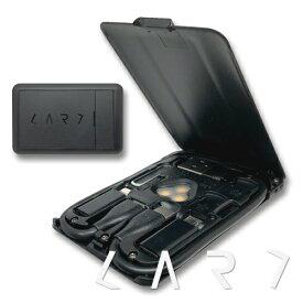 Kable CARD ケーブルカード ガジェット用カード型マルチツール ケーブル6種 / microSDリーダー / スマホスタンド / ワイヤレス充電 / SIM収納&ピン / LEDライト