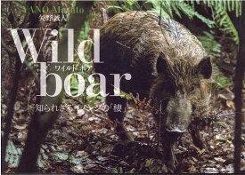 Wild boar 知られざるイノシシの「棲」 [ 矢野誠人 ]