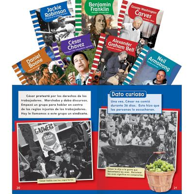 American Biographies: Men Set, Grades 1-2 SPA-AMER BIOGRAPHI-GRD 1-2 9PK [ Teacher Created Materials ]