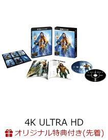 【楽天ブックス限定先着特典】アクアマン <4K ULTRA HD&ブルーレイセット>(2枚組/ブックレット&キャラクターステッカー付)(初回仕様)(コレクターズカード付き)【4K ULTRA HD】 [ ジェイソン・モモア ]