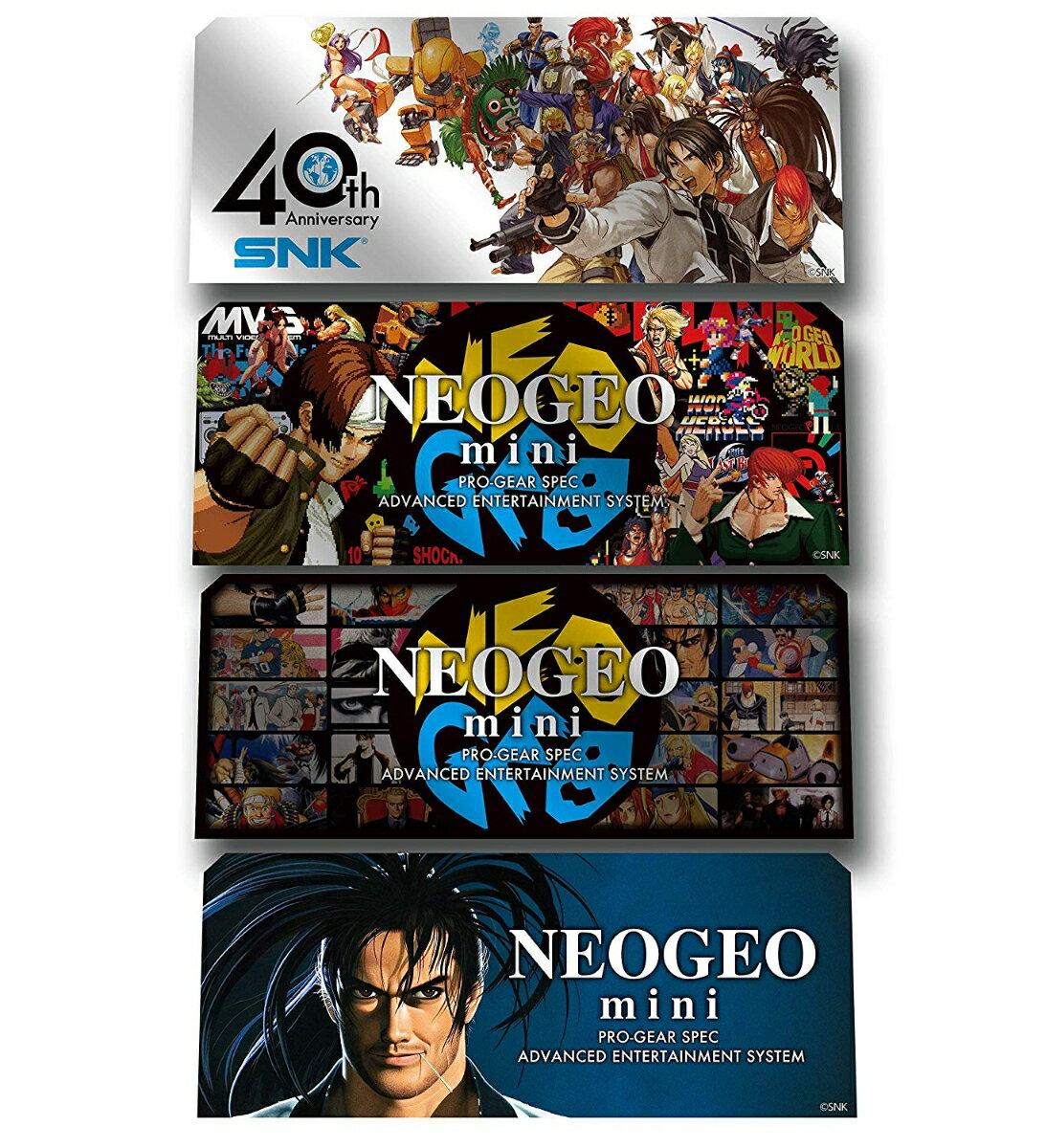 NEOGEO mini Character Stickers(4pcs)