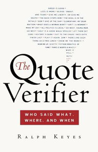 The_Quote_Verifier:_Who_Said_W