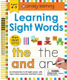 LEARNING SIGHT WORDS:WIPE CLEAN [ . ]