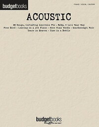 Acoustic:_Budget_Books