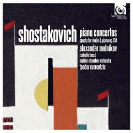 ショスターコヴィチ:ピアノ協奏曲第1番・第2番 ヴァイオリン・ソナタ [ メルニコフ&クルレンツィス ]