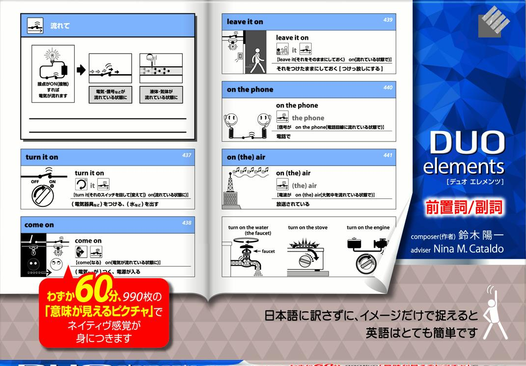 DUO elements 前置詞/副詞 [ 鈴木陽一 ]