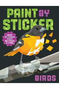 PaintbySticker:Birds:Create12StunningImagesOneStickerataTime![WorkmanPublishing]