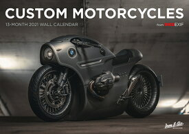 Bike Exif Custom Motorcycle Calendar 2021 CUSTOM MOTORCYCLE CAL 2021 [ Chris Hunter ]