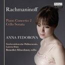 【輸入盤】ピアノ協奏曲第2番、チェロ・ソナタ アンナ・フェドロヴァ、ディニス&北西ドイツ・フィル、クレックナ…