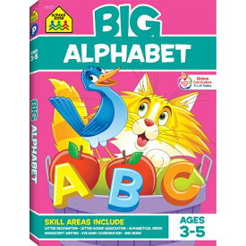Big Alphabet P-K Workbook BIG ALPHABET P-K WORKBK (Big Workbook) [ Gregorich ]