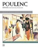 【輸入楽譜】プーランク, Francis: 1台4手のためのソナタ(1919年版)/ヒンソン & ネルソン編