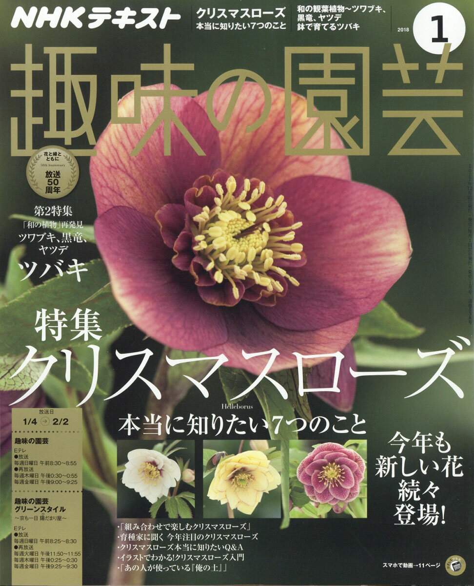 NHK 趣味の園芸 2018年 01月号 [雑誌]