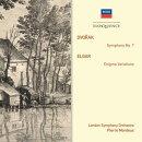 【輸入盤】 ドヴォルザーク:交響曲第7番、エルガー:エニグマ変奏曲 モントゥー&ロンドン交響楽団