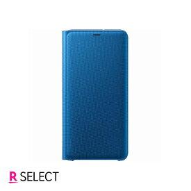 Galaxy純正Galaxy A7 WALLET COVER ブルー