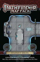 Pathfinder Map Pack: Starship Decks