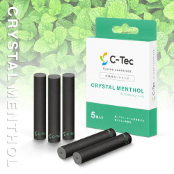 C-Tec DUO フレーバーカートリッジ(クリスタルメンソール)(CTEC-FCTR-CMT)