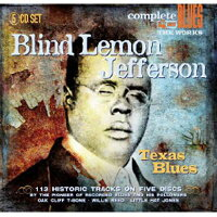 【輸入盤】TexasBlues(Box)[BlindLemonJefferson]