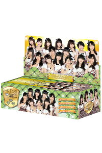 HKT48officialTREASURECARD通常販売10PBOX【1BOX10パック入り】