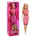 バービー(Barbie) ファッショニスタ ピンクセットアップ GRB59 【専用収納ケース付き】