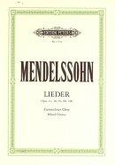 【輸入楽譜】メンデルスゾーン, Felix: 混声合唱作品集 Op.41, 48, 59, 88, 100(独語・英語)