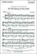 【輸入楽譜】ラター, John: 大地の美しさに/女声二部合唱