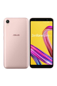 ZenfoneLive(L1)(5.5インチ/Android8.0/ROM:32GB/RAM:2GB/ローズピンク)ZA550KL-PK32