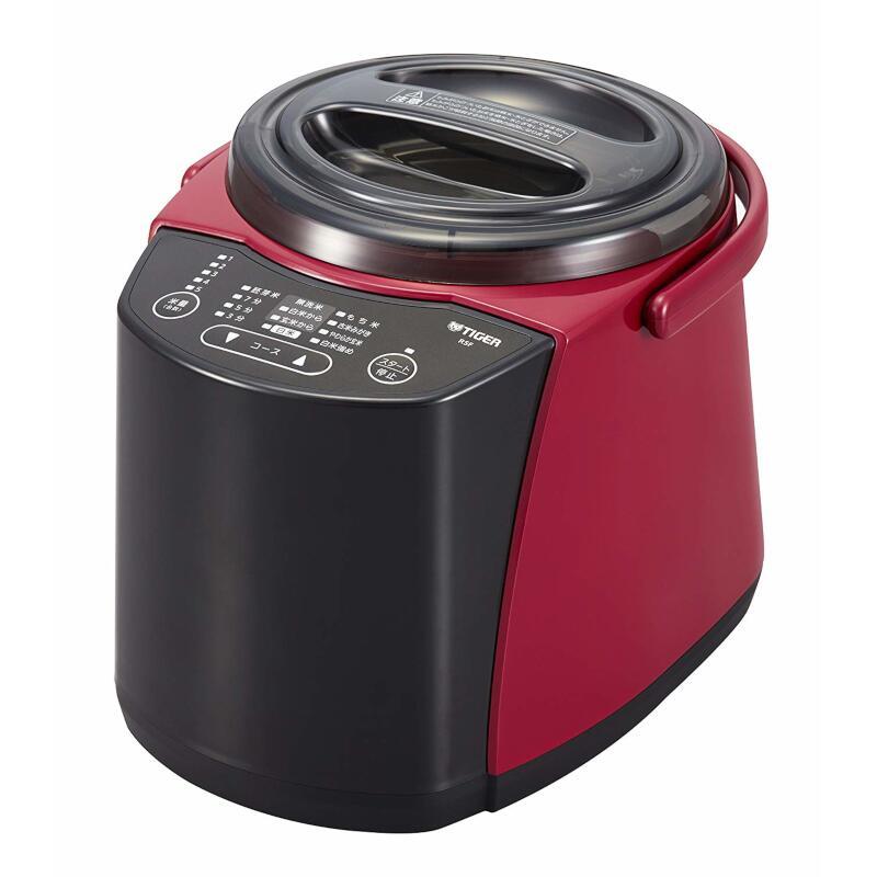 タイガー魔法瓶 精米器(無洗米機能つき) 1〜5合炊き レッド RSF-A100R