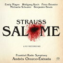 【輸入盤】『サロメ』全曲 アンドレス・オロスコ=エストラーダ&hr交響楽団、エミリー・マギー、ヴォルフガング・…