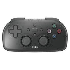 HORI PS4 ワイヤレスコントローラ ライト クリアブラック