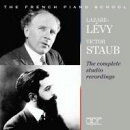 【輸入盤】The French Piano School-complete Studio Recordings: Victor Staub Lazare Levy