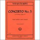 【輸入楽譜】ヴュータン, Henri: バイオリン協奏曲 第5番 イ短調 Op.37/ガラミアン編