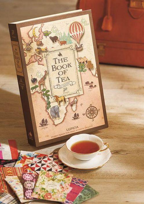 "THE BOOK OF TEA ""LE VOYAGE"" [ LUPICIA ]"
