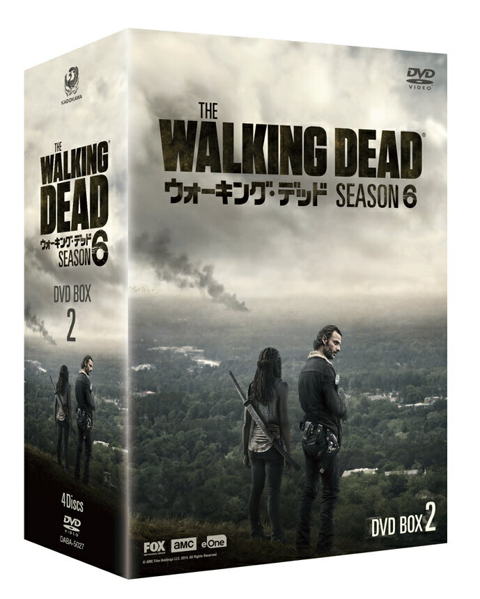 ウォーキング・デッド6 DVD BOX-2 [ アンドリュー・リンカーン ]
