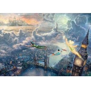 ジグソーパズル ピーターパン Tinker Bell and Peter Pan Fly to Never Land【1000ピース】(51x73.5cm)