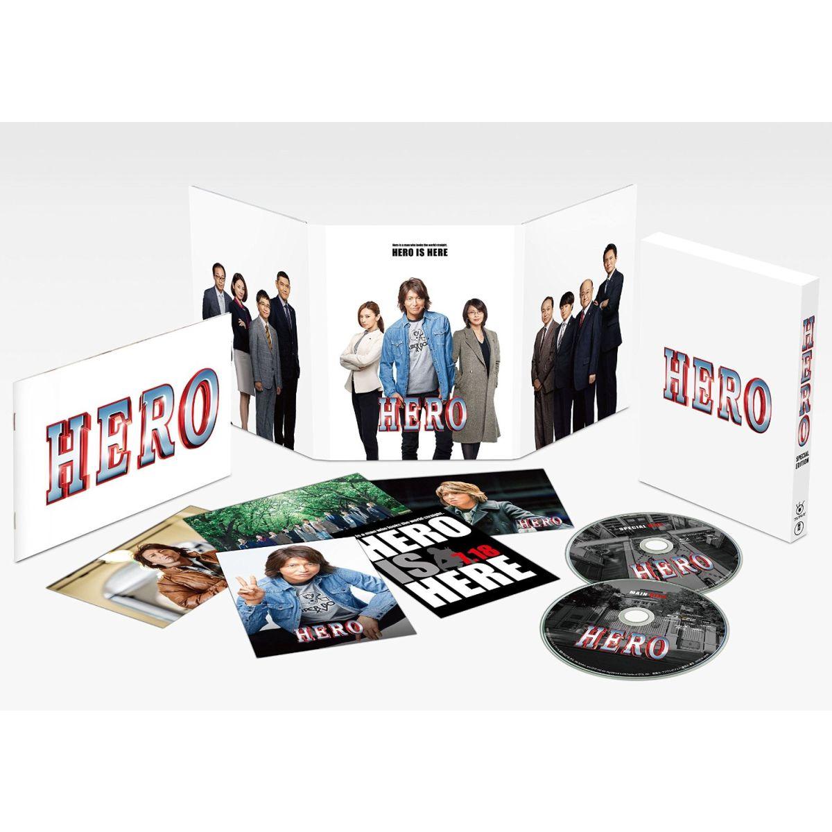 HERO Blu-ray スペシャル・エディション(2015)【Blu-ray】 [ 木村拓哉 ]