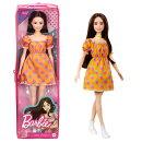 バービー(Barbie) ファッショニスタ ドットワンピース GRB52 【専用収納ケース付き】