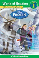World of Reading: Frozen Frozen 3-In-1 Listen-Along Reader (World of Reading Level 1): 3 Royal Tales