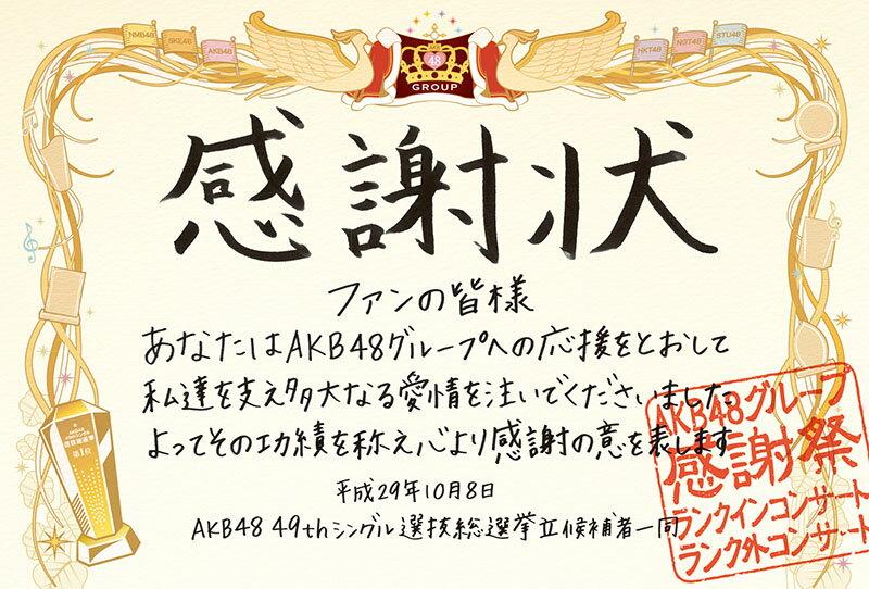 AKB48グループ感謝祭〜ランクインコンサート・ランク外コンサート [ AKB48 ]